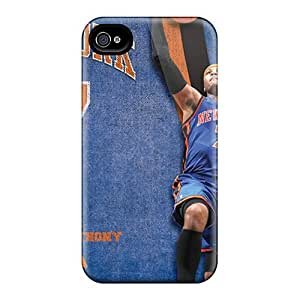 Iphone 4/4s ZXN14106FhWn Provide Private Custom Attractive New York Knicks Pattern Shockproof Hard Cell-phone Cases -JasonPelletier