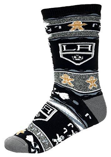 [For Bare Feet Los Angeles Kings Ugly Christmas Xmas Holiday Sports Socks] (Florida Themed Costumes)