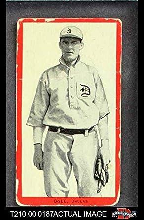 Amazoncom 1910 T210 3 Old Mill Texas League Ogle Baseball Card