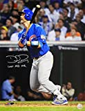 David Ross Autographed/Signed Chicago Cubs 2016 World Series Game 7 Last Career At Bat HR 16x20 Photograph w/Last AB HR - Authentic Signature