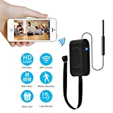 CHUO 1080P HD Spy Hidden Camera Wifi Motion Detection Tiny Security Alarm Remote Home Nanny Video Recorder