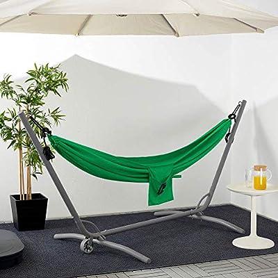 IKEA ASIA RISO - Hamaca, color verde oscuro: Amazon.es: Jardín