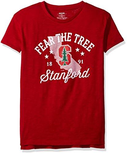 Ncaa Stanford Cardinal Abingdon Short Sleeve T Shirt  Medium  Crimson