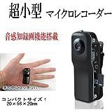 超小型ビデオカメラ 8GB対応 音感知録画機能 2GB micro SD 付