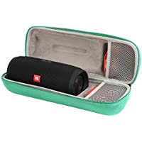 Case for JBL Charge 3 Waterproof Portable Wireless Bluetooth Speaker TEAL - Fits USB Plug and Cable. By Comecase