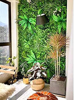 36 Pockets Vertical Wall Garden Planter Pocket Wall Mount Living Plant Growing Bag for Flower Vegetable Outdoor Wall Decor for Patios and Gardens Widely Used in Home Decor Shopping mall Office Hotel