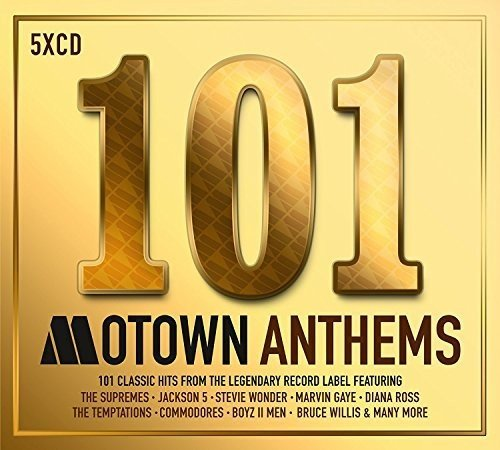 CD : 101 Motown Anthems / Various (United Kingdom - Import, 5 Disc)