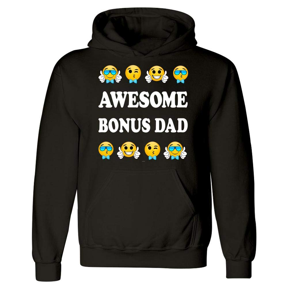 BADASS REPUBLIC Gift for Awesome Bonus dad from Stepdaughter or Stepson Hoodie