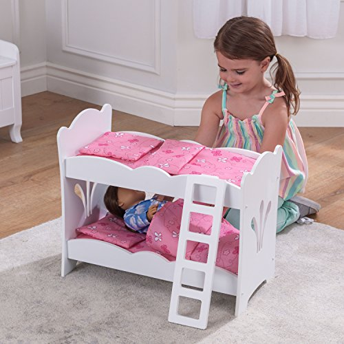 Kidkraft little doll bunk bed buy online in ksa toy for American home furniture riyadh
