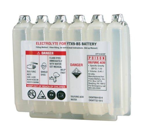 Yuasa Acid for Maintenance-Free Battery - YTX9-BS 5YT9ACIDP (Acid Battery Pack)