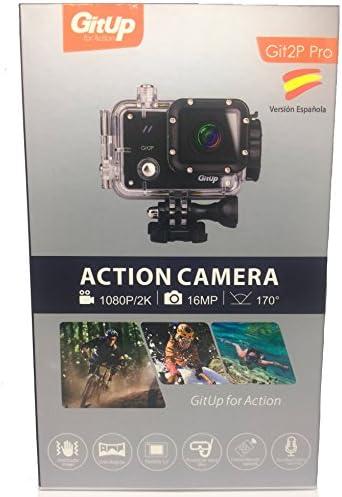 Camara GITUP GIT2P PRO EDITION VERSIÓN ESPAÑOLA Sensor Panasonic MN34120PA.Manual instrucciones español: Amazon.es: Electrónica