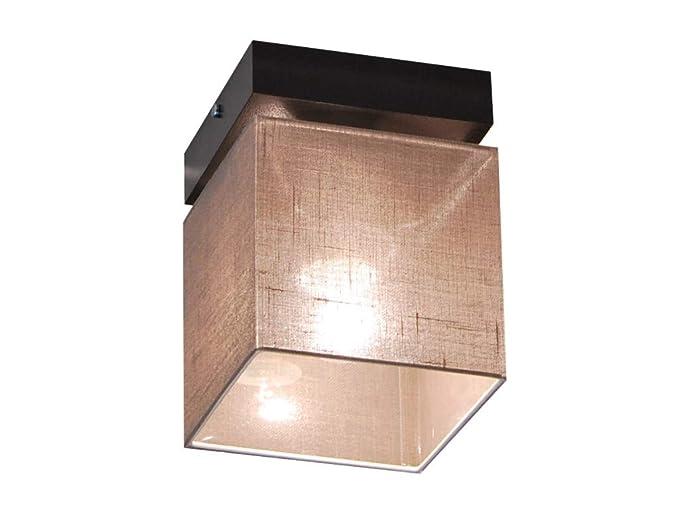 Plafoniera illuminazione a soffitto in legno massiccio lls116d