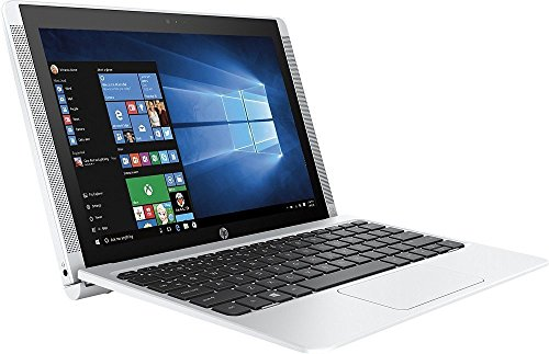 HP Pavilion x2 Detachable Flagship Laptop (10.1 Inch HD IPS Touchscreen, Intel Quad-Core Atom x5-Z8300, 32GB eMMC SSD, 2GB RAM, 802.11ac, Bluetooth, Windows 10) (Certified - In And Tablet 2 1 Hp Laptop White
