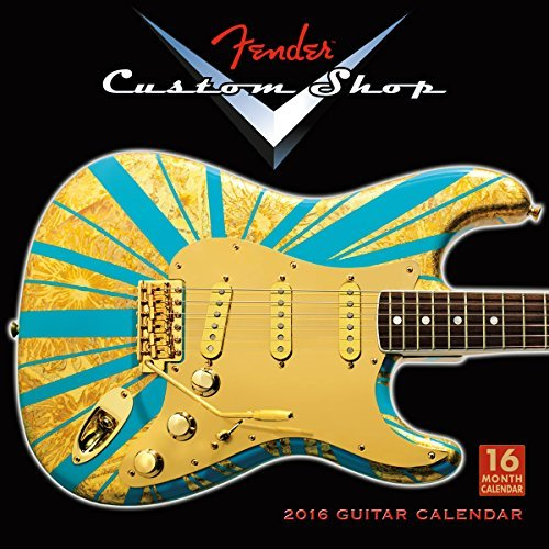 fender custom shop 2015 calendar - 6