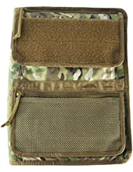 Tactical Admin Organizer with Zippered Map Case on Rear/Map Book Optional