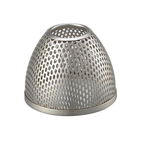 WAC Lighting G115-BN Mesh Bulb Shield, Brushed Nickel Finish