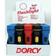 Dorcy International 20 Piece Display 2 D Cell Economy Flashlights 41-6480