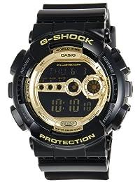 Casio Men's G-Shock GD100GB-1 Gold Resin Quartz Watch