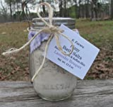 Natural Bath Salts, Goat Milk Bath Soaking Salts, Lavender Scented