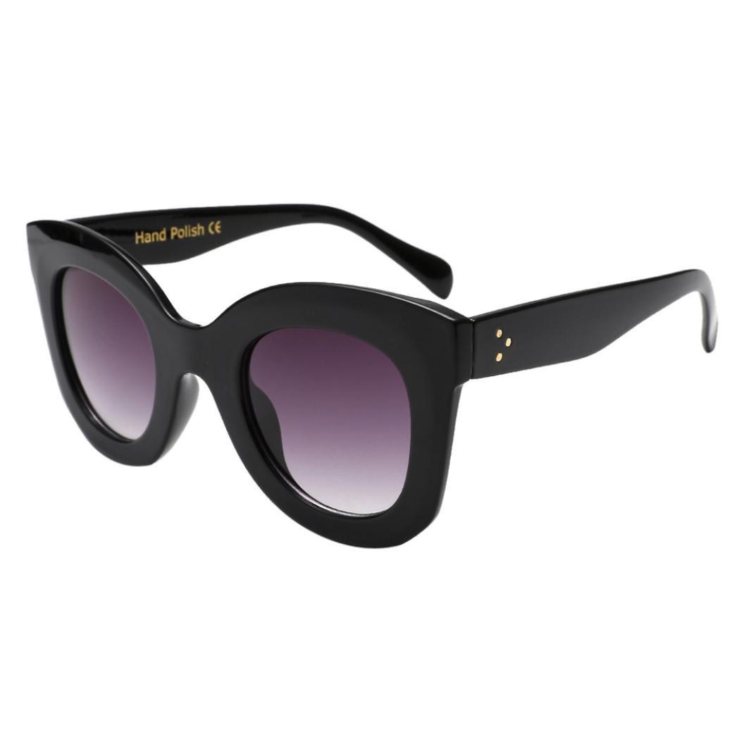 7325119aa3 Sunday Gafas de Sol Moda Para Mujer Vintage Ojo de Gato Gafas de Montura  Grande UV