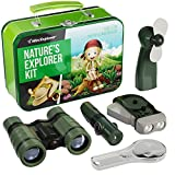 Outdoor Exploration Kit for Young Kids | Tin Case with