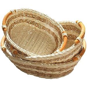 51pXzoloyOL._SS300_ Wicker Baskets & Rattan Baskets