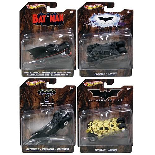 Hot Wheels 1:50 Batman Vehicles Wave 2 Case