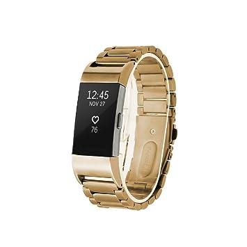 Fitbit Charge 2 Acero inoxidable Correa de reloj / banda de / cadena de reloj /