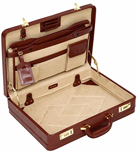 Luxury Leather Briefcase - 2