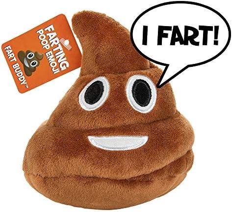 Poop Emoji Farting Plush Toy product image