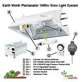 1000 Watt Plantanator Grow Light Kit Dual Bulb System