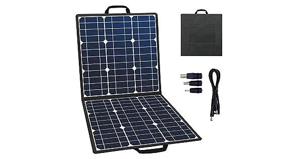 Amazon.com: GOFORT - Cargador solar portátil plegable, panel ...