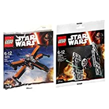 Lego Star Wars MINI Poe X Wing Fighter and First Order Special Force TIE Fighter [parallel import goods]