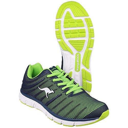Blau KangaROOS 8007 de deportiva zapatilla material sintético unisex K Tech qzOWqag