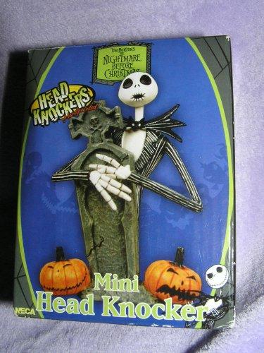 Mini Head Knocker (Disney's Nightmare Before Christmas Jack and Zero Mini Head Knocker)