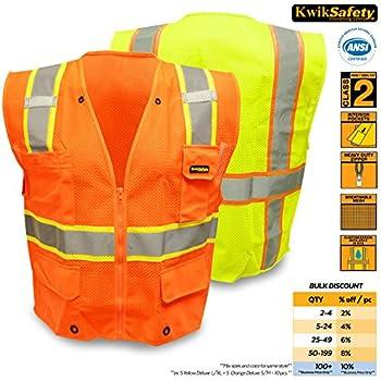 KwikSafety Orange Class 2 Ultra Cool Safety Vest