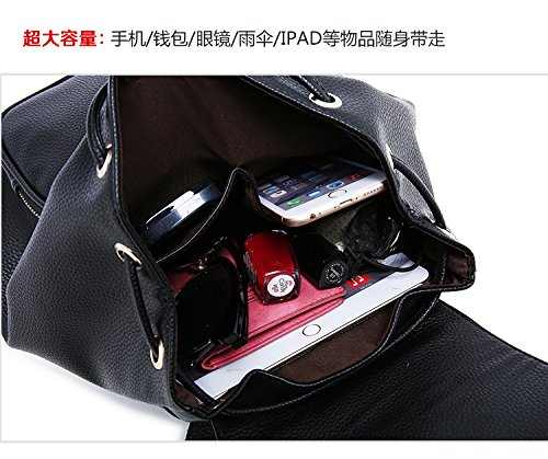 Casual Purse Ladies Small Women Daily Backpack Bag Travel Girls Leather wI66Yqp