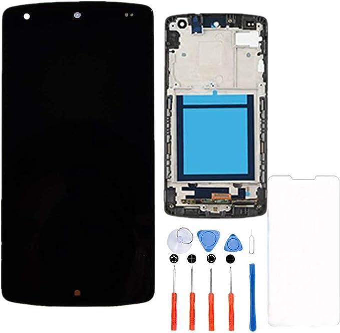 Hezbjiti Compatible con LG Google Nexus 5 D820 D821 Reemplazo de ...