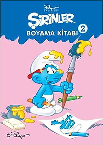 Sirinler Boyama Kitabi 2 Pierre Culliford Neslihan Ozakýncý