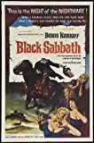 Black Sabbath Movie Poster (27 x 40 Inches - 69cm x 102cm) (1964) Style B -(Michele Mercier)(Lidia Alfonsi)(Boris Karloff)(Mark Damon)(Susy Andersen)