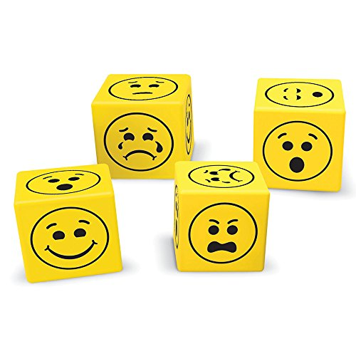 Learning Resources Emoji Dice, 200 Pieces ()