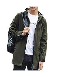 Generic Men Packable Outdoor Hoodie Running Jacket Windbreaker