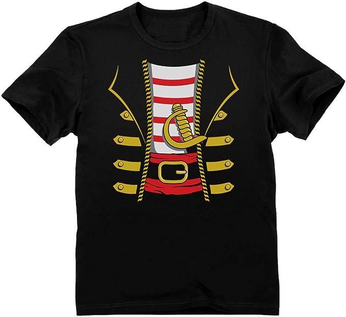 Green Turtle T-Shirts Camiseta para niños - Sencillo Disfraz de Pirata para Niños en Halloween: Amazon.es: Ropa y accesorios
