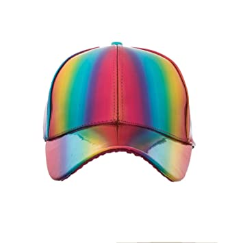Unpara Fashion Rainbow Baseball Hat Men Letter Cap Bone Gorras Tactical Cap Shade Adjustable Size: Amazon.com: Grocery & Gourmet Food