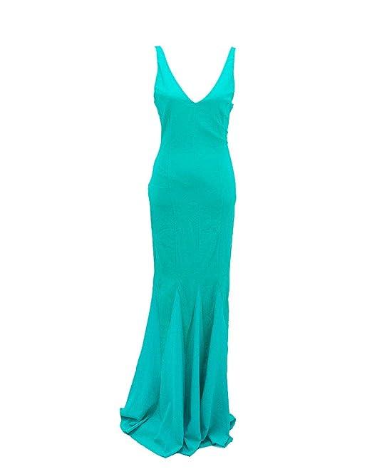huge discount c01cd 3a5aa PATRIZIA PEPE Abito smeraldo-44: Amazon.it: Abbigliamento