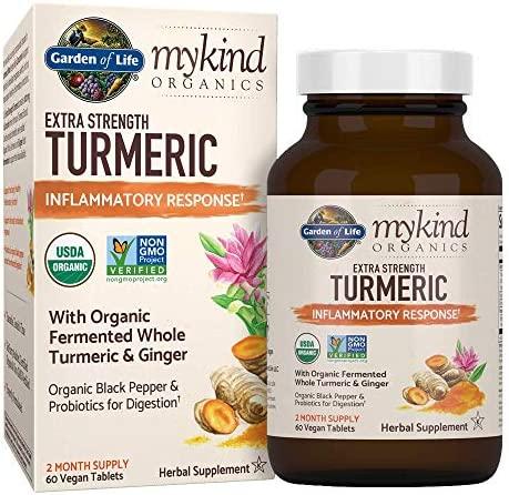 Garden Life Inflammatory Tablets 100mg Curcuminoids product image