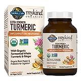 Garden of Life mykind Organics Extra Strength Turmeric Inflammatory Response 60 Tablets-100mg Curcumin (95% Curcuminoids) Black Pepper, Probiotics, Organic Non-GMO Vegan Gluten Free Herbal Supplement