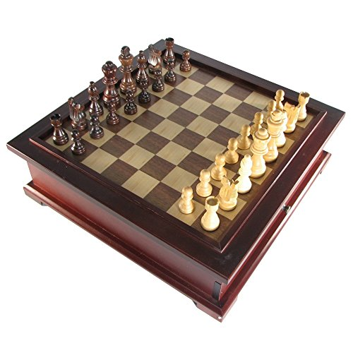10 in 1 Wooden Multi-Game Chess Set (10 In 1 Wooden Multi Game Chess Set)
