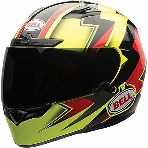 Bell Electric Adult Qualifier DLX Street Motorcycle Helmet - Hi-Viz / Small