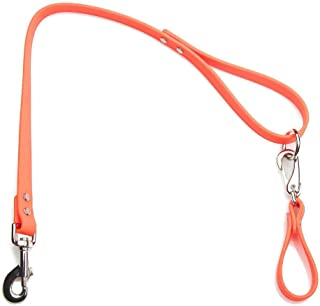 product image for Mendota Pet Durasoft Imitation Leather Belt Loop Leash - Dog Lead - Made in The USA